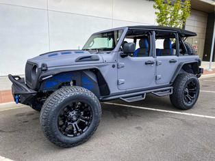 Peter's Jeep JL - 2021