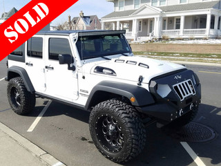White and Black Wrangler