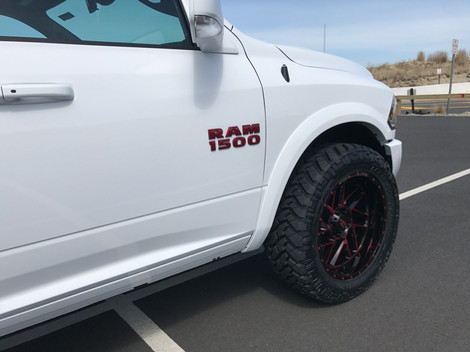 White and Red Ram Rebel