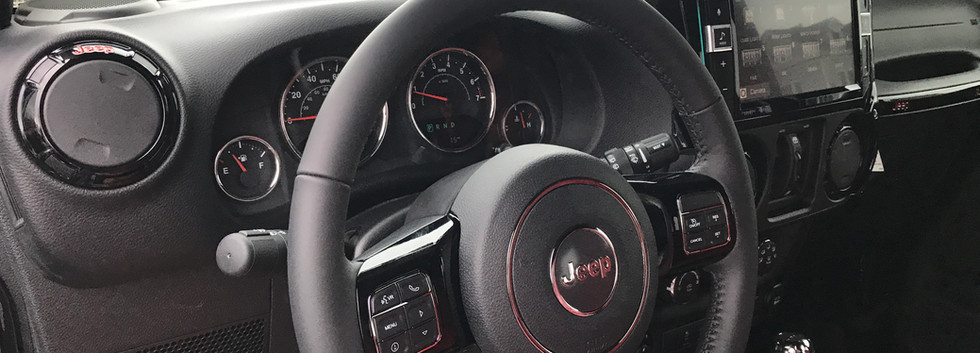Custom Jeep Interior