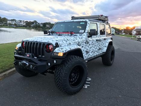 Camo Jeep