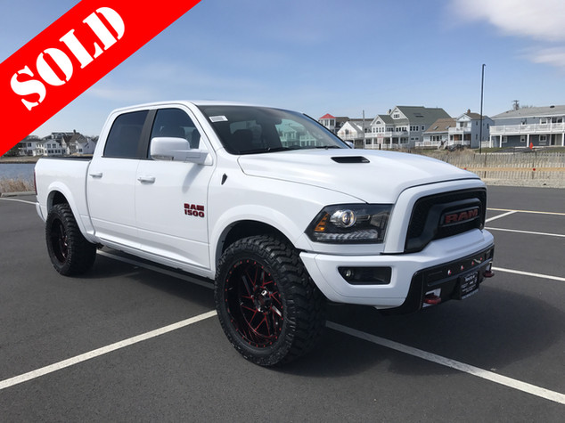 White & Red Ram
