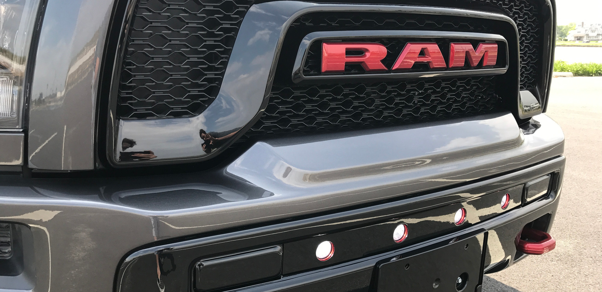 Grey and Red RAM