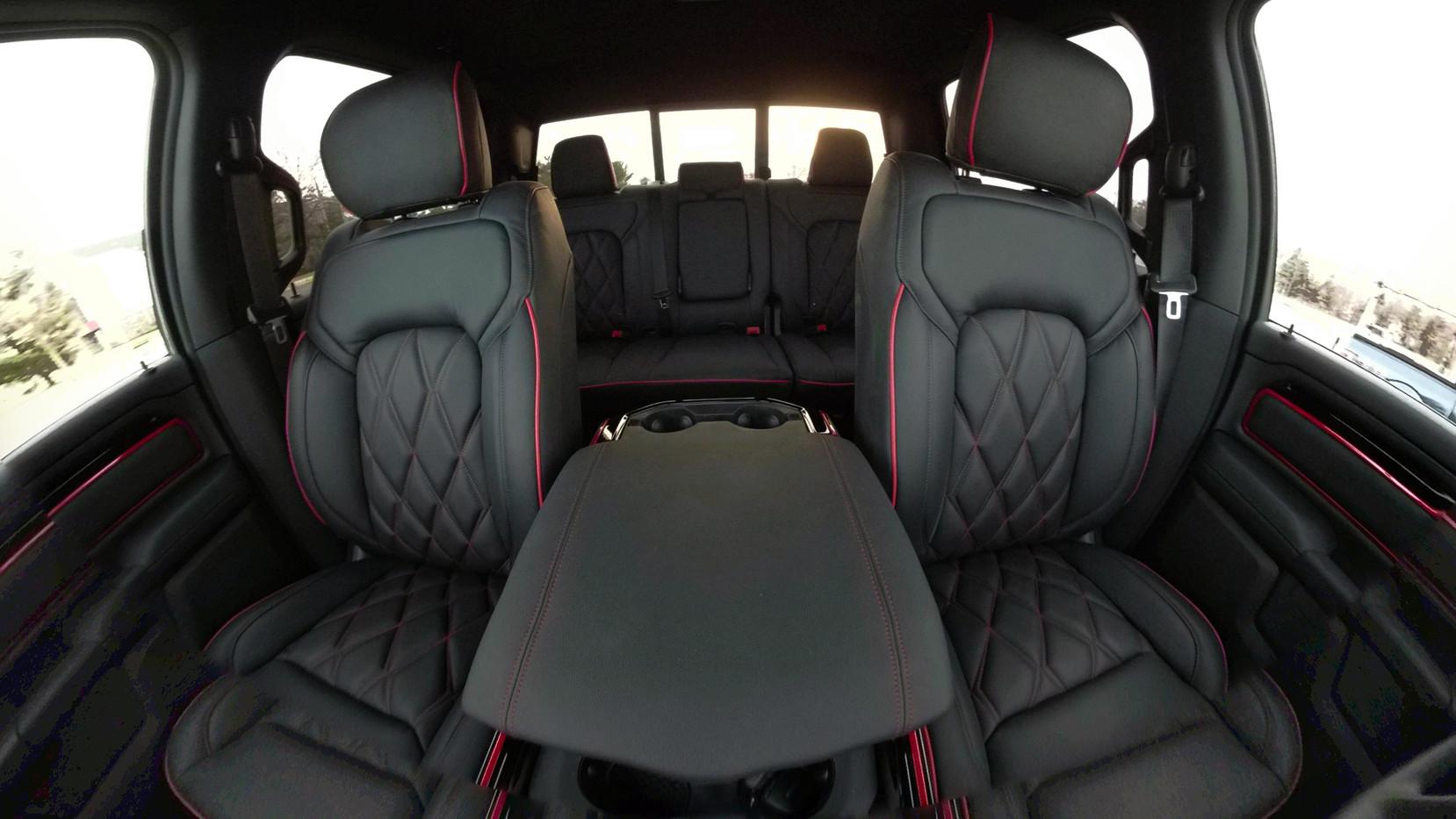 Black and Red RAM Interior