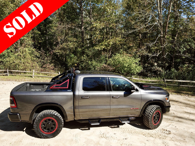 Ram Rebel TRX Gray Red