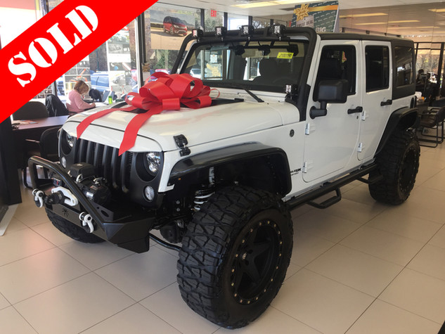 White & Black Wrangler