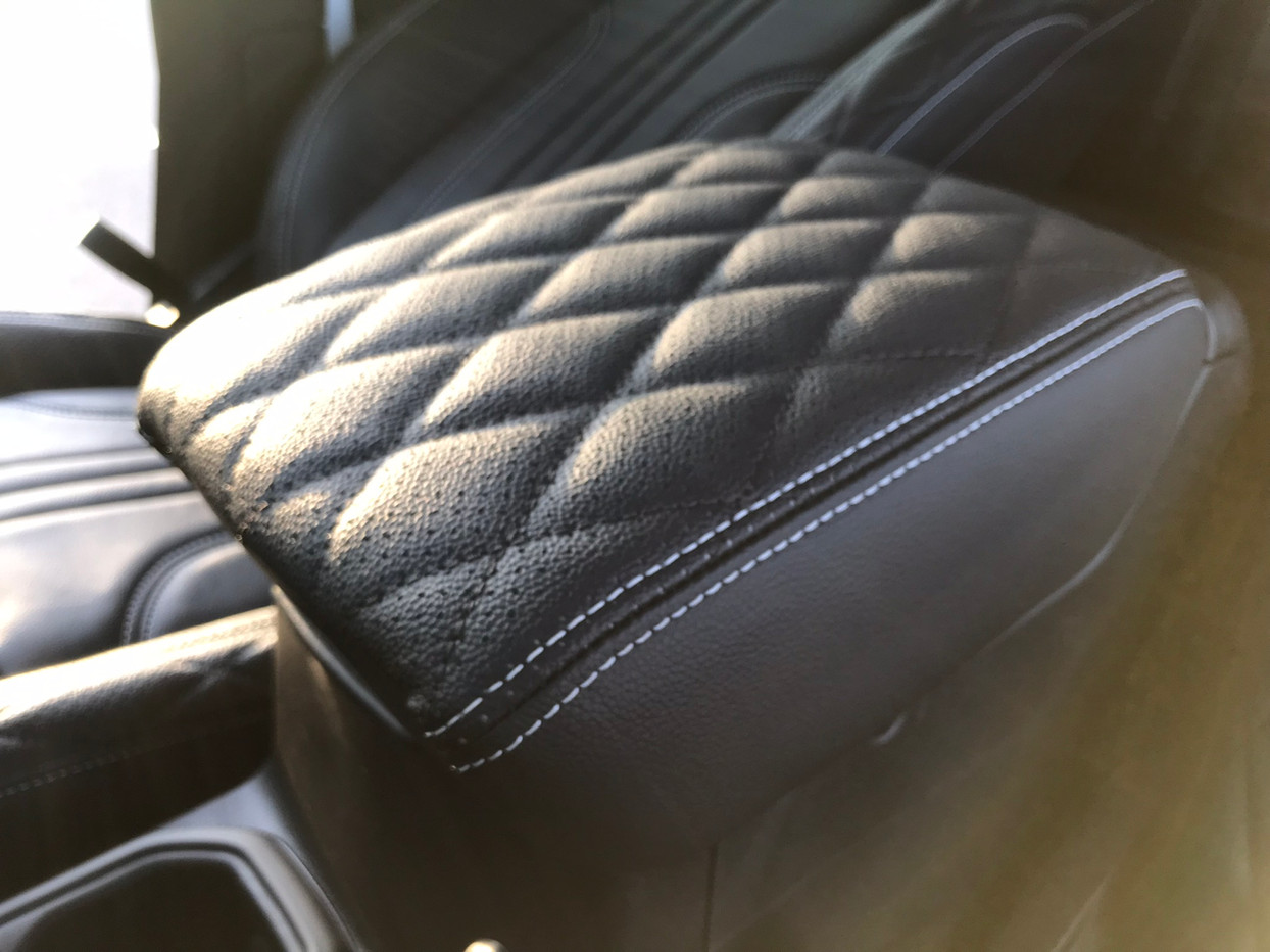 Black Jeep Interior
