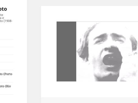 Investigación publicada en la web oficial del archivo Mário Peixoto.