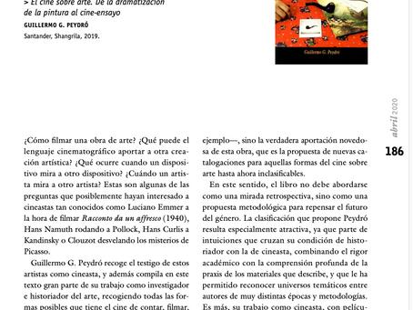 Un cruce entre lo poético y lo político para tiempos de conflicto. Archivos de la Filmoteca n.78