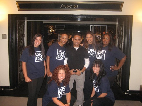 Backstage at The Dr. Oz Show '09