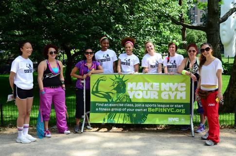 Make NYC Your Gym Initiative '11