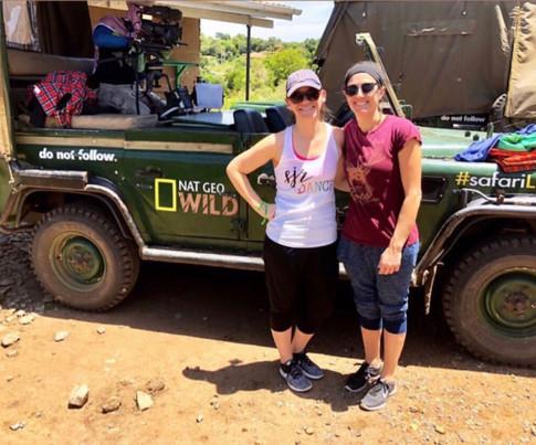 SJR on an African safari