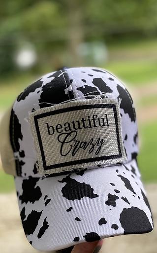 Beautiful Crazy Criss Cross Hat