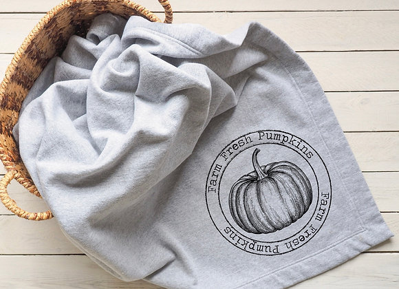 Farm Fresh Pumpkins Blanket