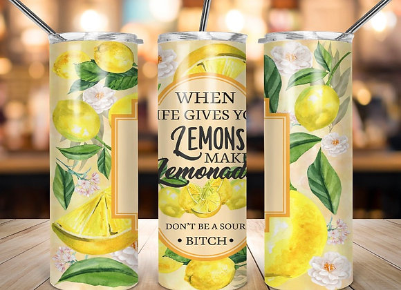 When life gives you 🍋 Tumbler