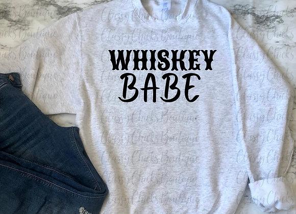 Whiskey Babe Sweatshirt