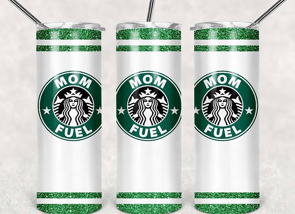 Mom Fuel Starbucks 20oz. Skinny Tumbler