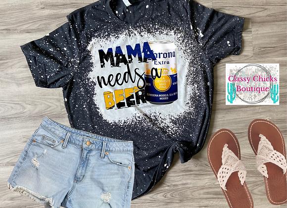 Corona-Mama needs a beer