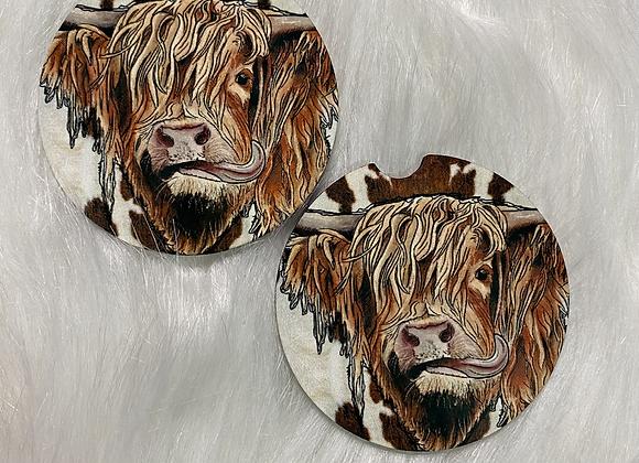 Cow Car Coasters