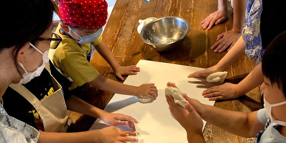 親子料理教室鉄釜で炊き込みご飯