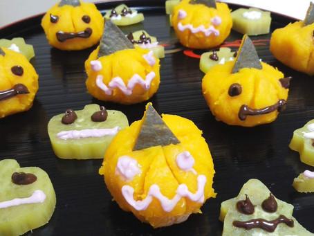 10月の親子料理教室はハロウィンパーティーをしましょう
