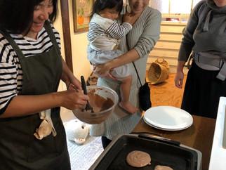 赤ちゃん、小さいお子さんとお母さんの料理教室3回終了しました。