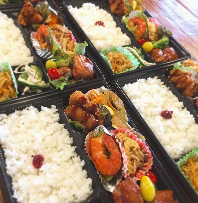 運動会のお弁当。美味しいものたくさん詰め込みました。家族で食べる楽しい時間金沢キ