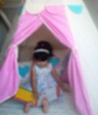 teepees para niños y niñas