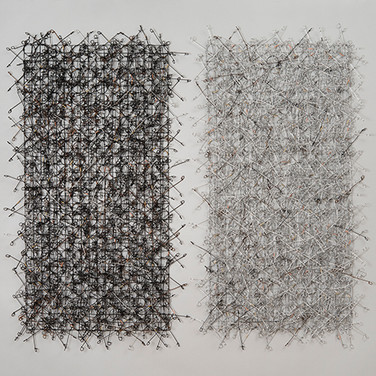 Circle Grid Diptych: Strategy