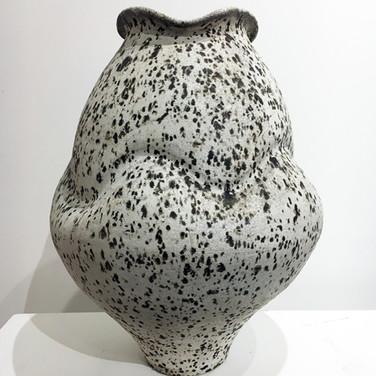 Large Speckled Jar