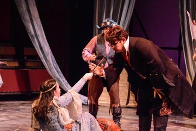 Marina, Valdes, and his Pirates