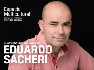 EVENTOS El escritor Eduardo Sacheri brindará una imperdible charla abierta en Rosario