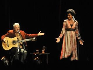Caetano y Teresa, se presentaron en Rosario con esas canciones que iluminan