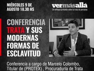 """Conferencia gratuita """"Trata y sus modernas formas de esclavitud"""""""