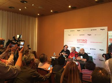 """Rueda de prensa. Film """"Retiro Voluntario"""""""