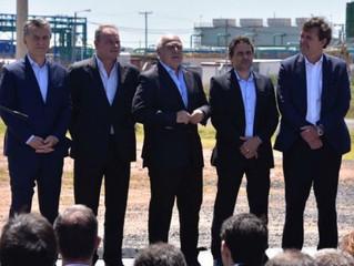 Macri llegó a Pérez para inaugurar la nueva planta de la acería Gerdau