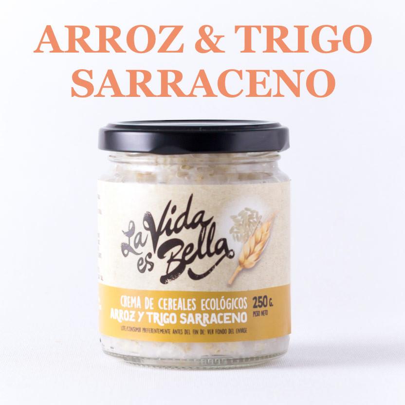 Crema de Arroz y Trigo Sarraceno