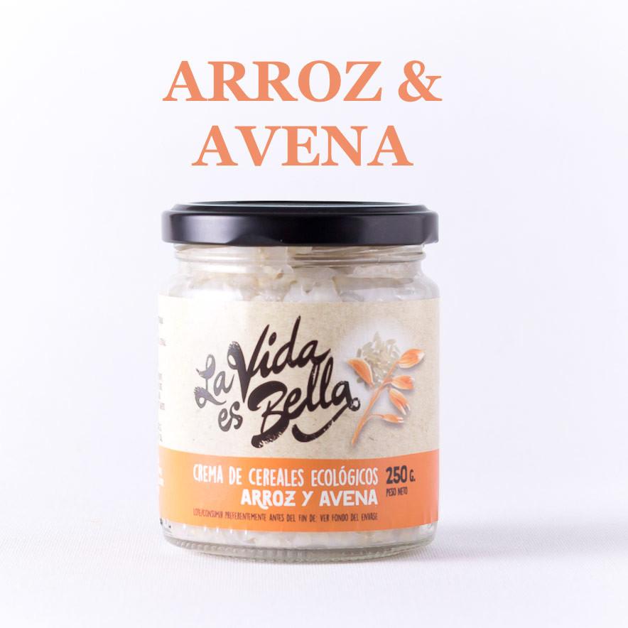 Crema de Arroz y Avena