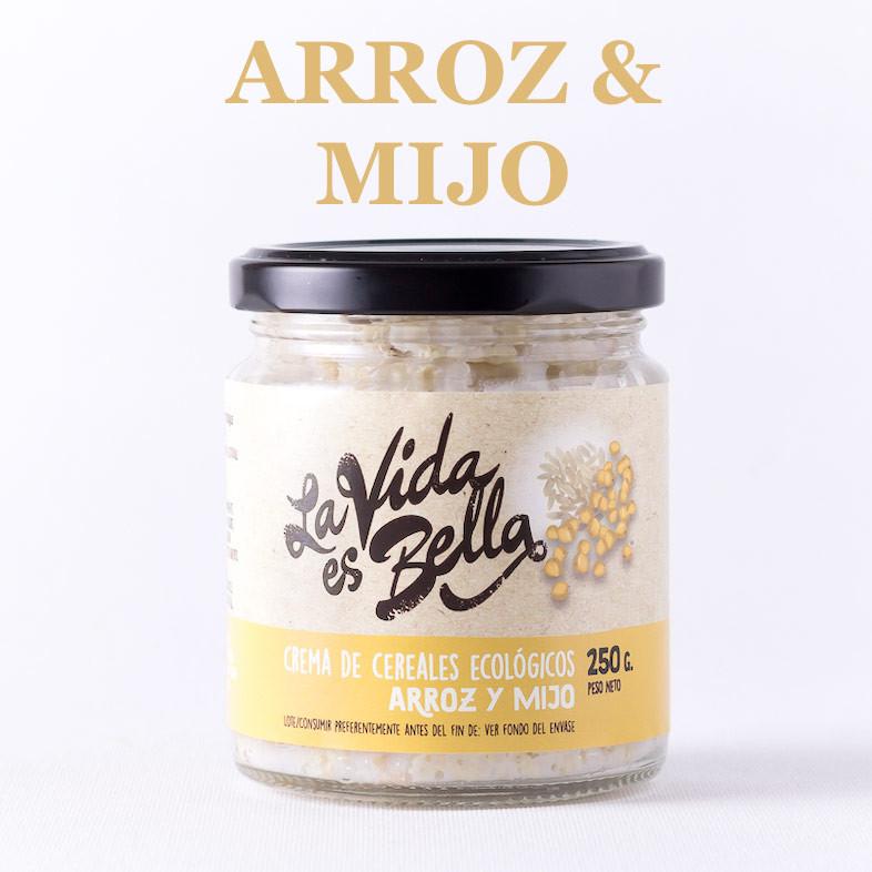 Crema de Arroz y Mijo