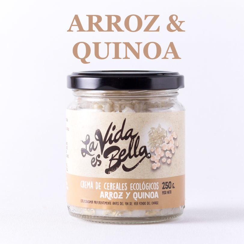 Crema de Arroz y Quinoa