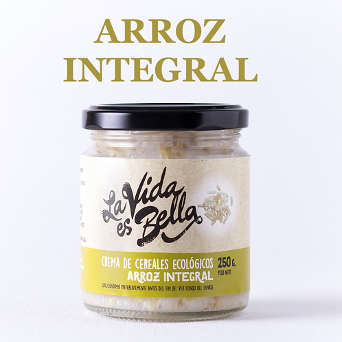 Crema de Arroz Integral - Caja de 12 und.