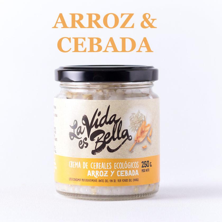 Crema de Arroz y Cebada