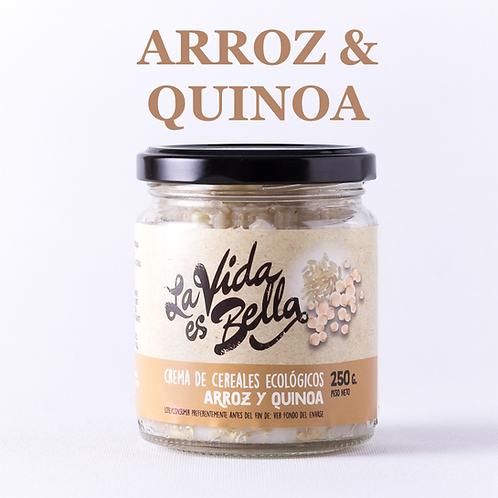 Crema de Arroz y Quinoa - Caja de 6 und.
