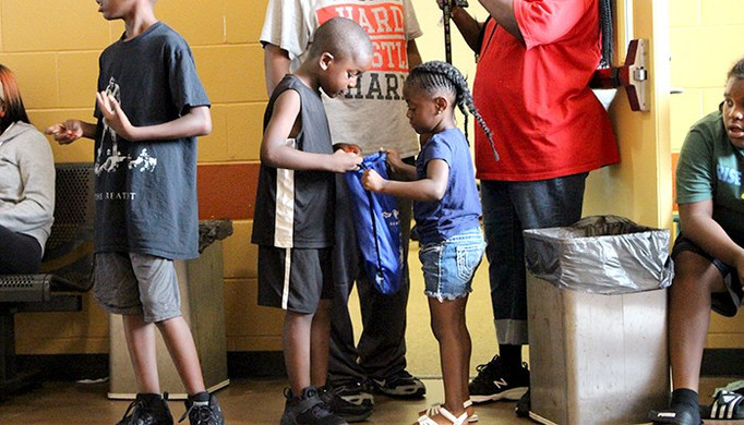 Free backpacks for Detroit youth