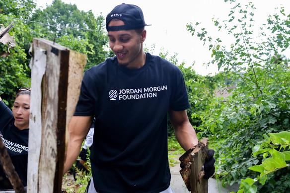 Jordan Morgan cleaning up Detroit