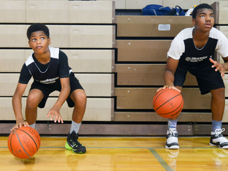 Detroit Free Press: At Jordan Morgan youth camp, the focus is off court