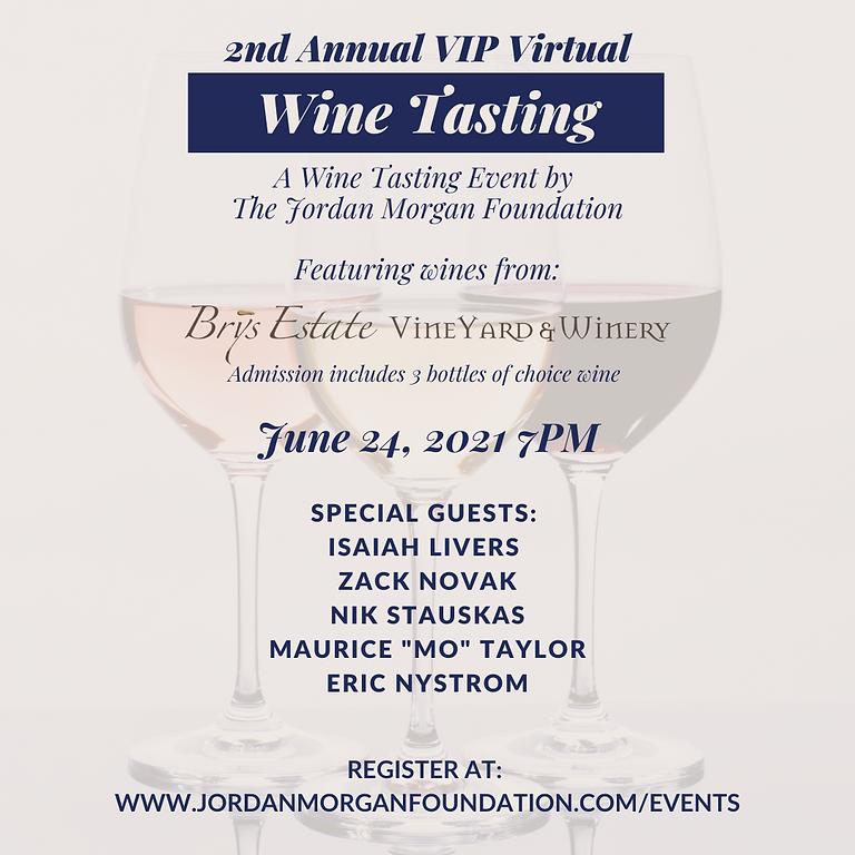 2nd Annual VIP Virtual Wine Tasting