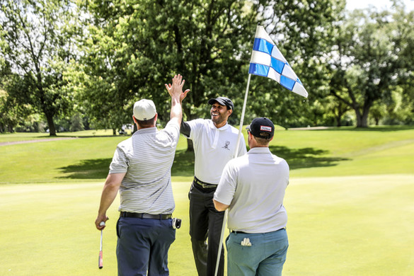 Fun for everyone at the JMF Golf Outing
