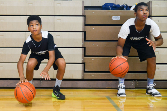 Home Court Initiative Basketball Campers