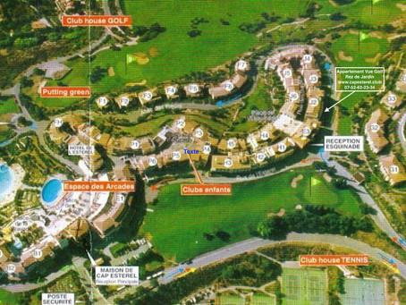 Cap Esterel Plan du Village